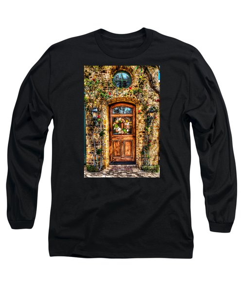Beautiful Entry Long Sleeve T-Shirt by Jim Carrell