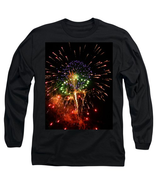 Beautiful Fireworks Works Long Sleeve T-Shirt