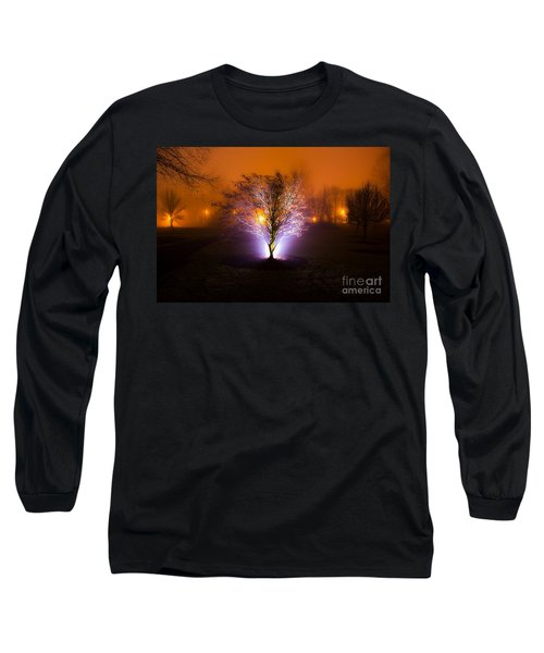 Beautiful Foggy Night 2 Long Sleeve T-Shirt