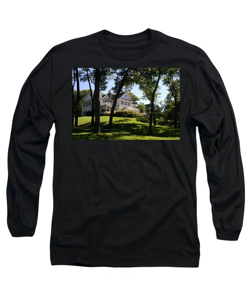 Beautiful Hillside Home Long Sleeve T-Shirt