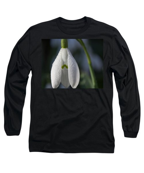Beautiful Snowdrop Long Sleeve T-Shirt