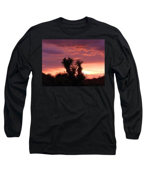 Beautiful Sunset In Arizona Long Sleeve T-Shirt