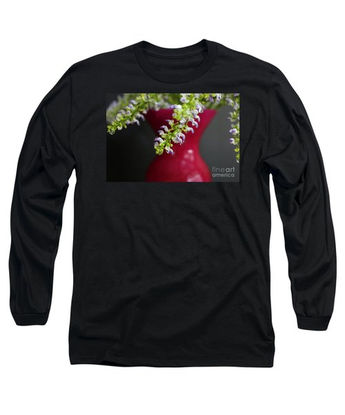 Long Sleeve T-Shirt featuring the photograph Beauty Hangs In The Balance by Ella Kaye Dickey