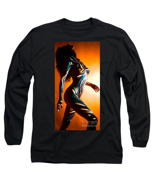 Beauty In Light Long Sleeve T-Shirt by Tbone Oliver