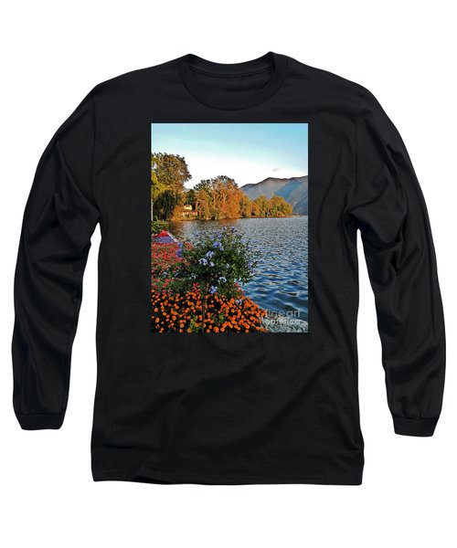 Beauty Of Lake Lugano Long Sleeve T-Shirt