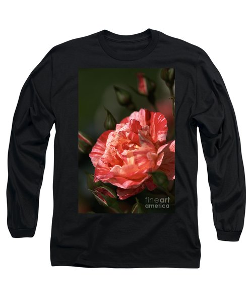 Long Sleeve T-Shirt featuring the photograph Beauty Of Rose by Joy Watson