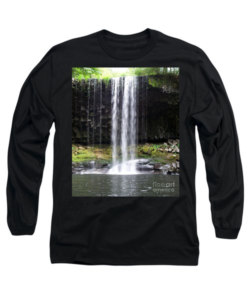 Long Sleeve T-Shirt featuring the photograph Beaver Falls by Chalet Roome-Rigdon