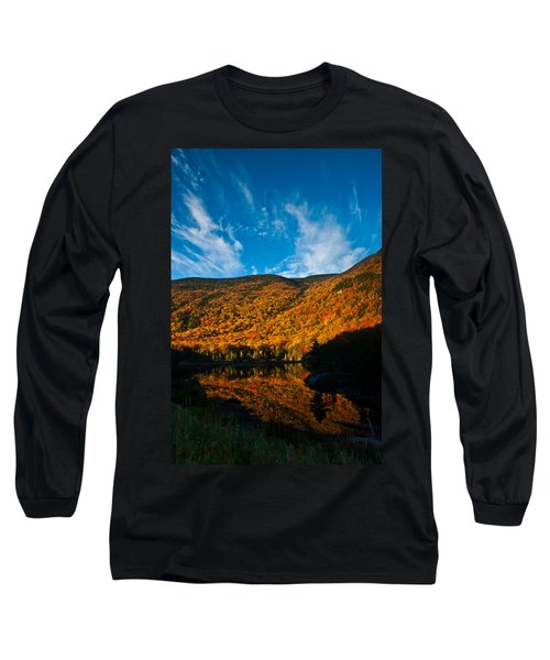 Beaver Pond White Mountain National Forest Long Sleeve T-Shirt