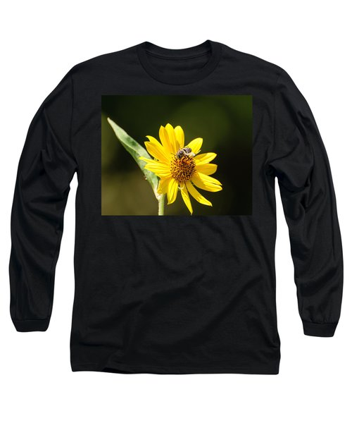 Bee Flower Long Sleeve T-Shirt