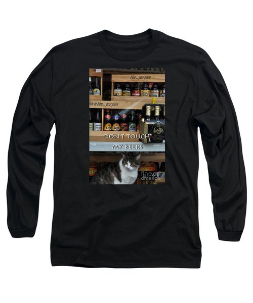 Long Sleeve T-Shirt featuring the photograph Beers Warden by Simona Ghidini