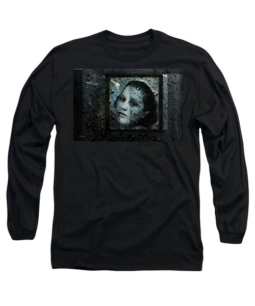 Behind Waters Long Sleeve T-Shirt by Randi Grace Nilsberg
