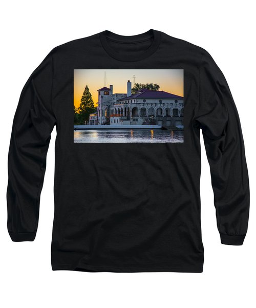 Belle Isle Boat House Long Sleeve T-Shirt