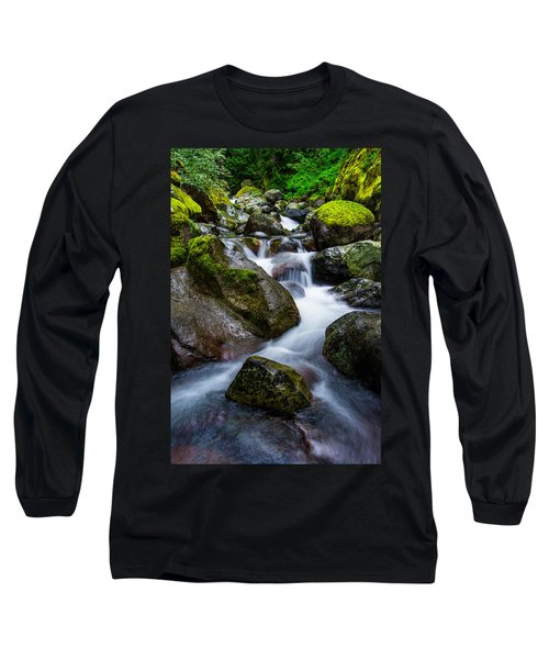 Below Rainier Long Sleeve T-Shirt