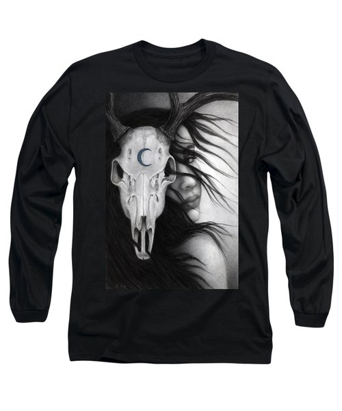 Long Sleeve T-Shirt featuring the painting Beltane by Pat Erickson