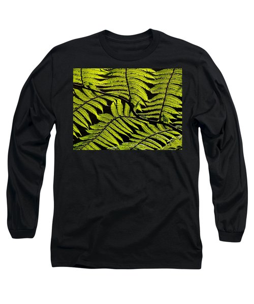 Bent Fern Long Sleeve T-Shirt