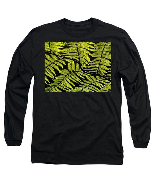 Bent Fern Long Sleeve T-Shirt