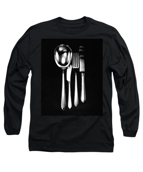 Berkeley Square Silverware Long Sleeve T-Shirt
