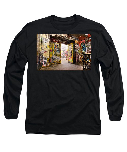 Berlin - The Kunsthaus Tacheles Long Sleeve T-Shirt by Luciano Mortula
