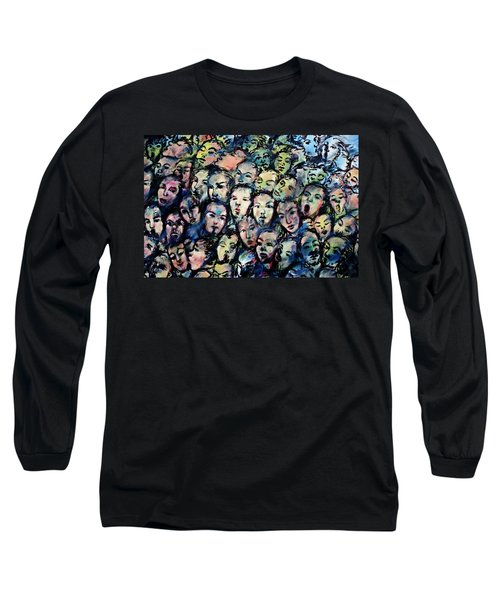 Berlin Wall Graffiti  Long Sleeve T-Shirt