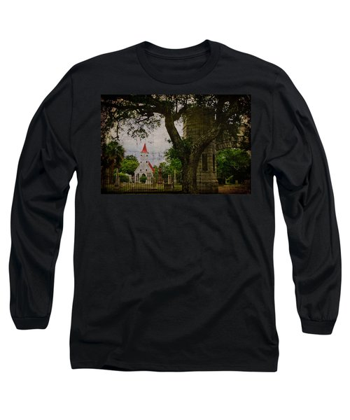 Bethany Cemetery Entryway Long Sleeve T-Shirt
