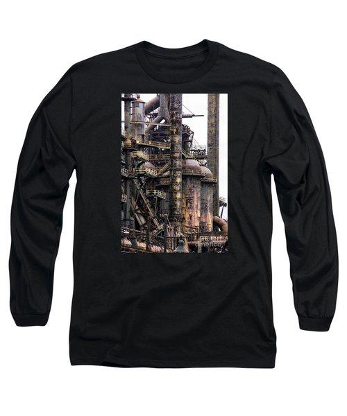 Bethlehem Steel Series Long Sleeve T-Shirt by Marcia Lee Jones