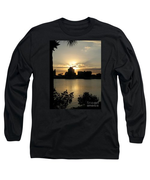 Between Day And Night Long Sleeve T-Shirt by Christiane Schulze Art And Photography