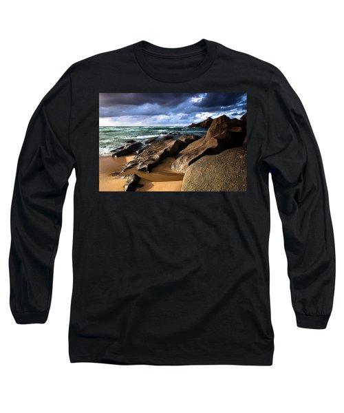 Between Rocks And Water Long Sleeve T-Shirt