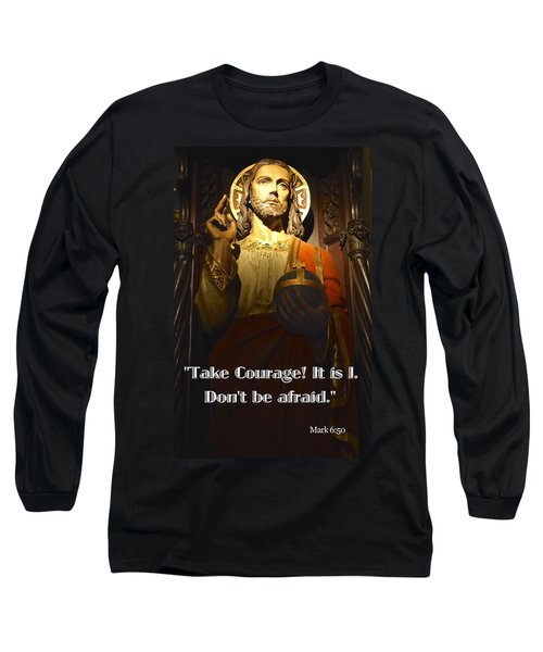 Bible Quote  Mark 6  50 Long Sleeve T-Shirt