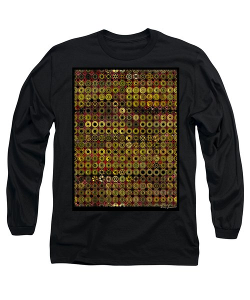 Biding Time In The Gold Flocked Basement Twixt Death And Funeral Long Sleeve T-Shirt