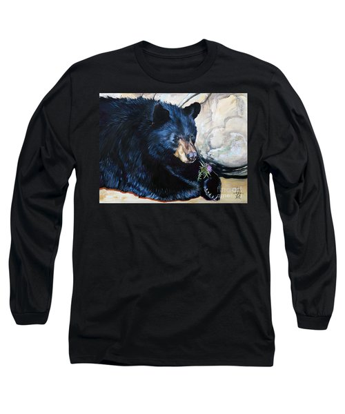 Big B And Little Bee Long Sleeve T-Shirt by J W Baker