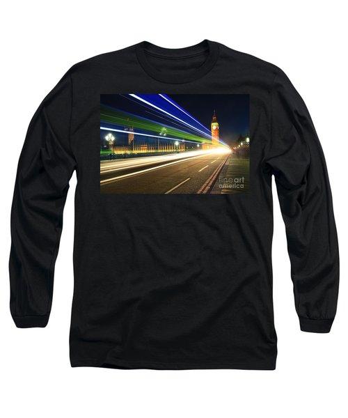 Big Ben And A Bus Long Sleeve T-Shirt