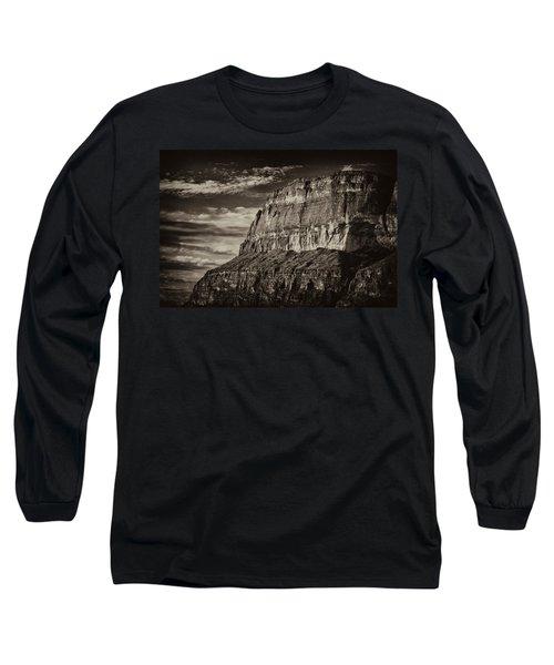 Big Bend Cliffs Long Sleeve T-Shirt