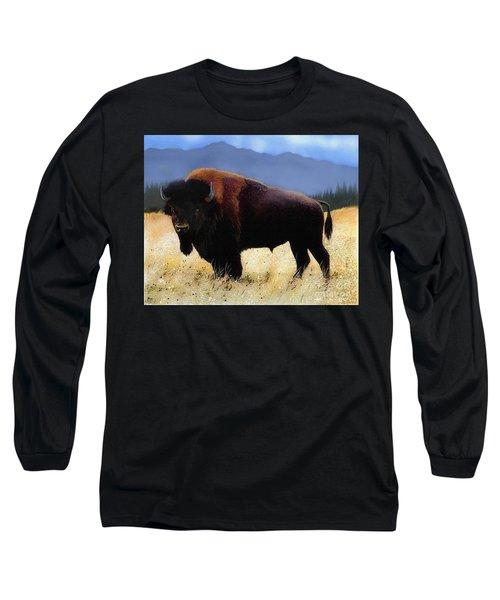 Big Bison Long Sleeve T-Shirt