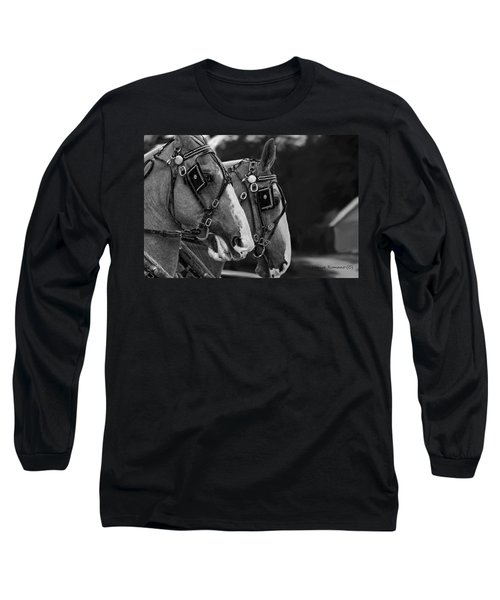 Long Sleeve T-Shirt featuring the photograph Big Boys by Denise Romano