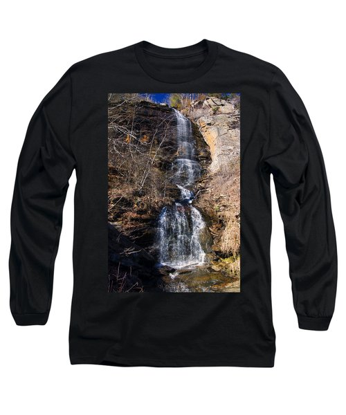 Big Bradley Falls 2 Long Sleeve T-Shirt by Chris Flees