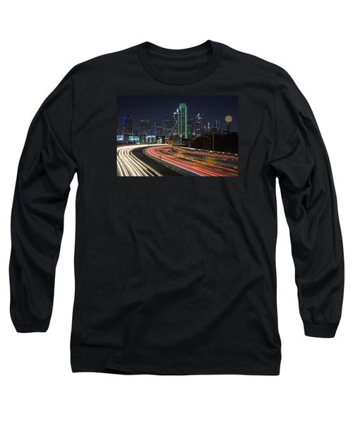 Big D Long Sleeve T-Shirt by Rick Berk