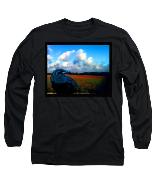 Big Daddy Crow Series Silent Watcher Long Sleeve T-Shirt