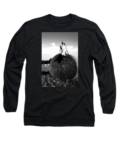 Long Sleeve T-Shirt featuring the photograph Big Dreams Bw by Elizabeth Sullivan