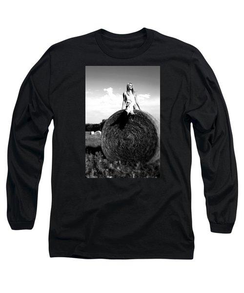 Big Dreams Bw Long Sleeve T-Shirt