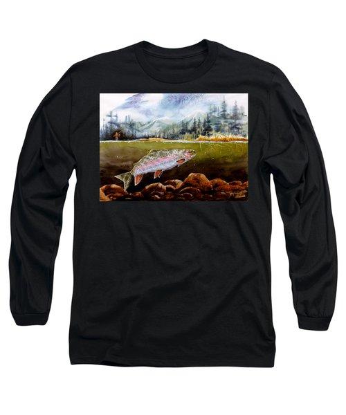 Big Thompson Trout Long Sleeve T-Shirt