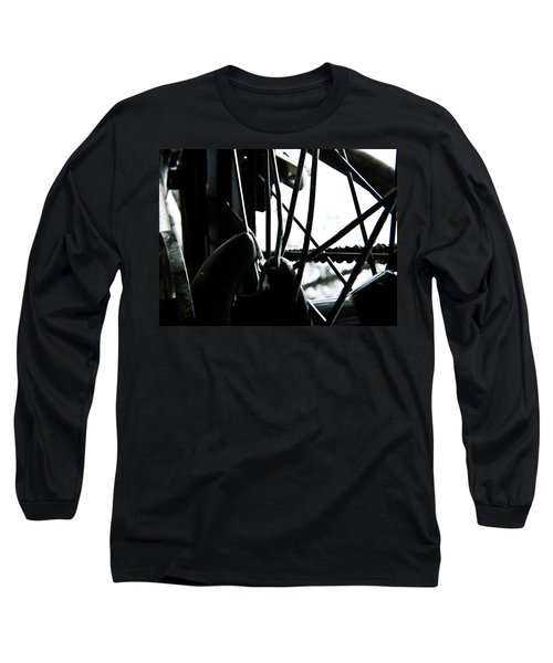 Bike Wheel Long Sleeve T-Shirt