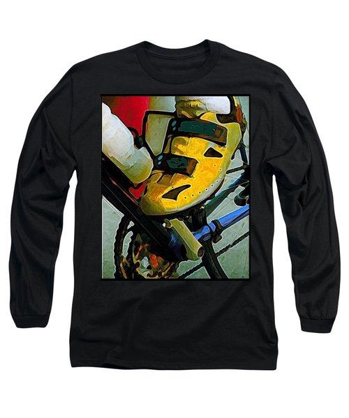 Biker Boy Foot Long Sleeve T-Shirt