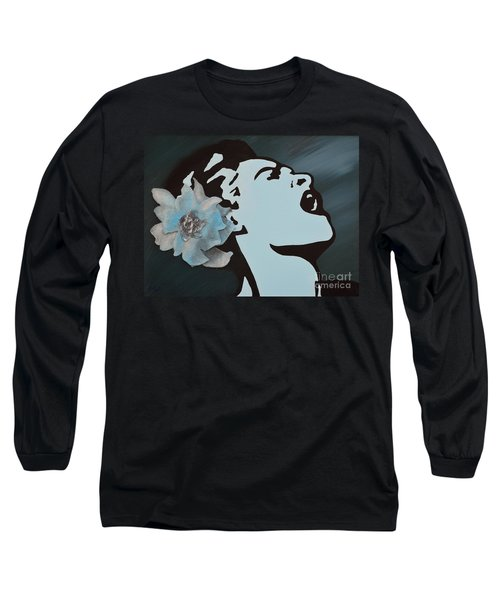 Billie Holiday Long Sleeve T-Shirt