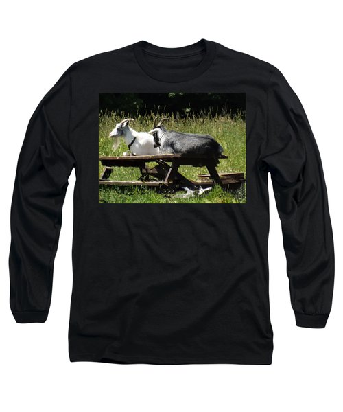 Billy Goats Picnic Long Sleeve T-Shirt