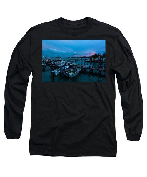 Bimini Big Game Club Docks After Sundown Long Sleeve T-Shirt