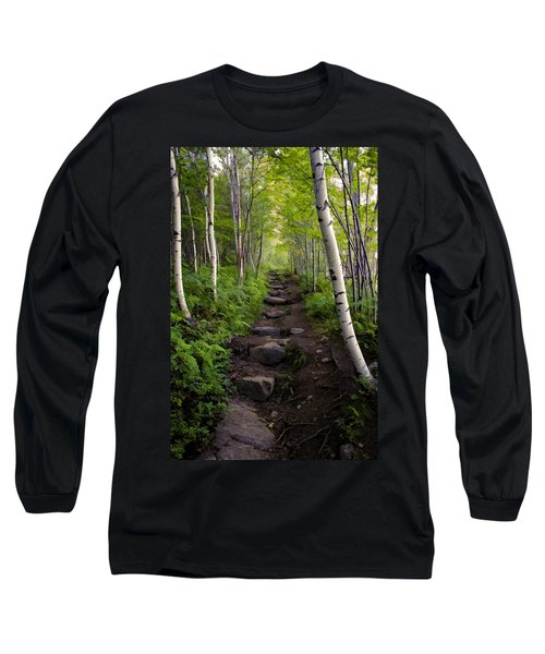 Birch Woods Hike Long Sleeve T-Shirt