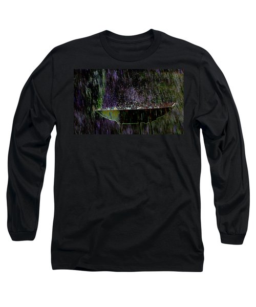 Bird Bath Explosion Long Sleeve T-Shirt