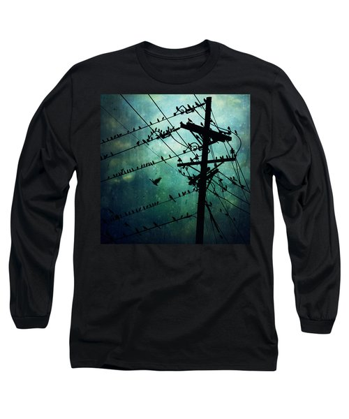 Bird City Long Sleeve T-Shirt by Trish Mistric