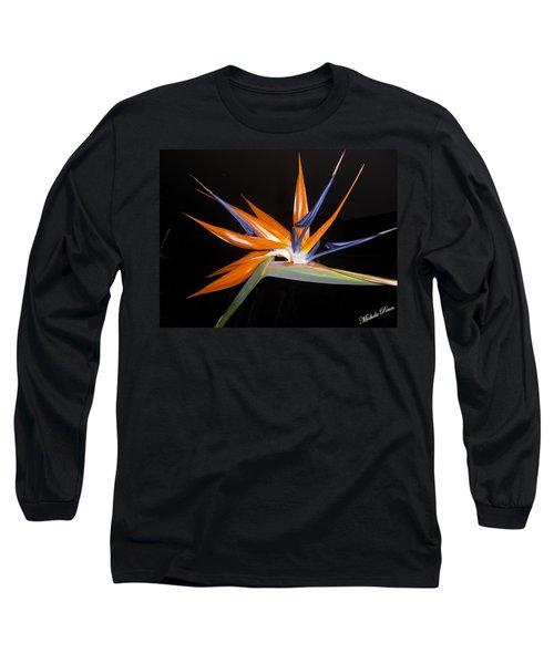 Bird Of Paradise Beauty 4 Long Sleeve T-Shirt