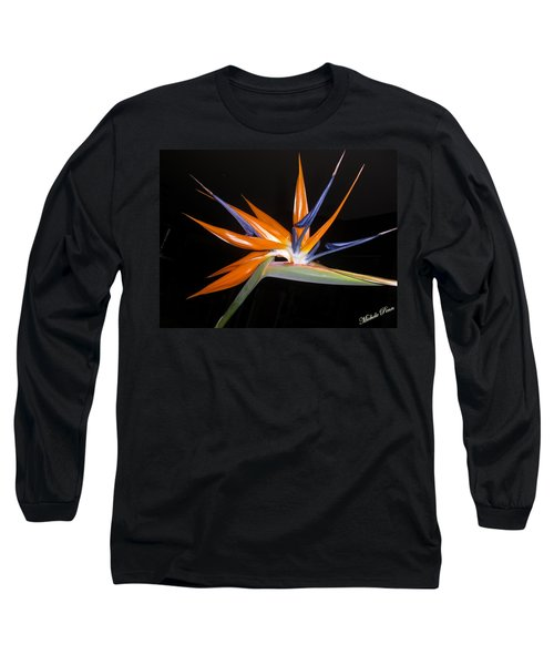 Bird Of Paradise Beauty 4 Long Sleeve T-Shirt